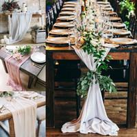 ingrosso idee di decorazioni di compleanno-Matrimonio Tovaglia 50 colori tondo e rettangolo lungo tavolo torta nuziale Idea mascherata decorazioni per feste di compleanno tessuto BF