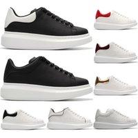 buenas zapatillas de skate al por mayor-Diseñador barato de los hombres zapatos casuales buena calidad de cuero deporte para hombre para mujer zapatillas de skate moda zapatillas de deporte de la plataforma del partido