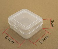 Wholesale packing watches for sale - Group buy 6 cm PP Transparent plastic watch box tool hardware accessories receive the packing box fast shipping SN633