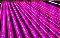 sistemas de luz de crecimiento libre al por mayor-la nave libre 10pcs \ 1 lot T5 LED crece la integración ligera del tubo T8 para las plantas Sistema hidropónico de Vegs Crecimiento / Floración de la floración
