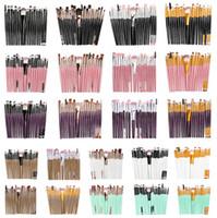 bürstenhersteller großhandel-Hersteller Direkt Natürliche 20 teile / satz Ein Auge Make-Up Pinsel Lidschatten Pinsel Schönheit Werkzeuge Neutral Kein Logo 21 Farbe Optional