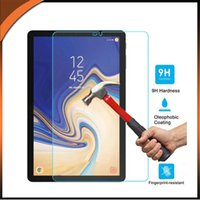 Wholesale glass screen protector for s4 online – Tempered Glass Screen Protector Film for Samsung Galaxy Tab S4