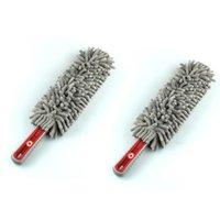 máquinas de chenilla al por mayor-Dragonpad Fiber Car Wash Gloves Chenille Microfibra Cepillos para Motocicleta Lavadora Cuidado del automóvil Cepillos de limpieza