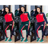 farbe hosen für frauen groihandel-Frauen Sport Anzug Hoodies + Pants 2 Stück Frauen-Set Outfit aushöhlen Solid Color Womens Sweat Anzüge sweatsuits Kleidung Kleidung K29