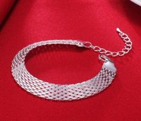 Wholesale charms prata resale online - Women s Fashion Bracelet Soft Watchband Charm Bracelet Bangles Fine Jewelry Pulseiras De Prata