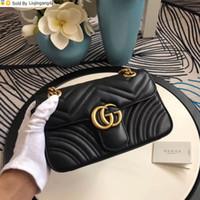 Wholesale black metal evening bag resale online - Liujingang4 Quilted Messenger Bag Bronze Metal Accessories Black Women Handbags Top Handles Shoulder Bags Totes Evening Cross