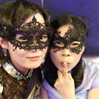 mardi gras femmes chaudes achat en gros de-Halloween Masques Belle Partie Mascarade Vénitienne Demi Visage Lily Femme Dame Chaude Dentelle Sexy Mardi Gras Demi Masques Oeil Vénitien