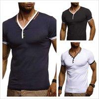 erkekler sıkı egzersiz giysileri toptan satış-Basit erkekler Sıkı t gömlek erkek tasarımcı gömlek Egzersiz Fitnes Unisex Çift Giyim Sıcak Satış Tops