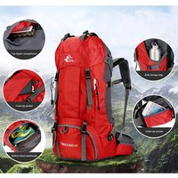 Wholesale carry shoulder bag backpack for sale - Group buy Women Men Easy To Carry Large Capacity Shoulder L Backpack Hiking Outdoor Bag Mountaineering Bag Rain Cover Travel Backpack