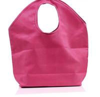 ingrosso sacchetti eco friendly iuta-3 colori Juta Beach Tote Large Women Shopping bag di grandi dimensioni Borse da spiaggia per bagagli casuali LX6489