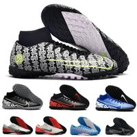 Wholesale fashion academy for sale - Group buy 2019 New Mercurial Superfly VII Academy Vapor PRO TF High Low Mens Soccer Football Shoes CR7 Neymar Men Soccer Training Sneakers Boots