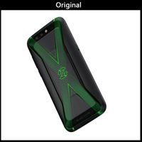 ingrosso antenna tv android-Xiaomi Black Shark Gaming Phone Blackshark 5.99 '' 6 GB 64GB Snapdragon 845 Smartphone X Type antenna professionale MIC 4000mAh
