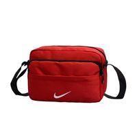 ingrosso sacchetti di tela di canapa per gli uomini-16x23x9CM Nike Donna Uomo Canvas Sport Cross Body Messenger Bag Sling Tracolla Crossbody Shell Pack BA306