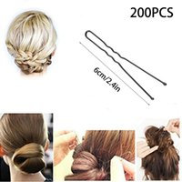 Wholesale Professional Golden Bobby Pins U Shape Hair Pins For Women Girls And Hairdressing