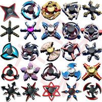 Wholesale toys for hands resale online - 100 types fidget Spinner Fingertip Gyro games hand Spinners Dragon wings eye Decompression Anxiety Toys for EDC aluminium alloy with Tin box