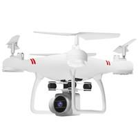 helikopter hava drone toptan satış-Uzaktan kumandalı Selfie Uçak Drone Wifi Hd Kamera Ile Hj14w Hava Fotoğrafçılığı Katlanabilir Helikopter Rc Uzun Pil T190621