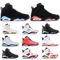 Wholesale rubber cat for sale - Group buy New Arrive men Black Infrared Basketball Shoes mens DMP Olympic Oreo Tinker UNC Black Cat White Infared Designer sneakers