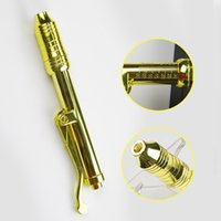 Wholesale free syringes needles for sale - Group buy 24k gold hyaluronique pen atomizer hyaluronic acid guns wrinkle removal water High syringe needle free injection acid pen