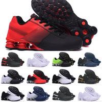 famosos zapatos de running al por mayor-air Shox Deliver 809 Zapatillas para correr al por mayor Famoso blanco DELIVER 97 OZ NZ Zapatillas deportivas para hombre Deportes 270 Zapatos diseñadores