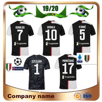 Wholesale seasons soccer jersey for sale - Group buy 19 Season Club RONALDO Soccer Jersey Home DYBALA PJANIC MANDZUKIC Soccer Shirts BONUCCI D COSTA New Patch Football uniform