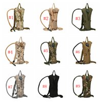 Wholesale backpack mountains resale online - Outdoor Sports Mountain Hiking Climbing L TPU Tactical Hydration Water Backpack Bag Camouflage Hydration Packs Colors ZZA389