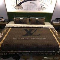 leopar nevresim takımı seti toptan satış-Avrupa Klasik Stlye Leopar LINENS 4 adet Yüksek Kalite Pamuk Yatak Yatak yazdır Ev Kraliçe Moda Nevresim Takımları