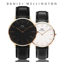 Wholesale lovers watches for sale - Group buy Fashion Mens Brand Watches Women Luxury Quartz designer Lovers Casual Watch Men Dress Leather Strap Male Simple Style Ladies Wristwatches