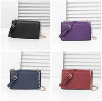 Wholesale k wallet resale online - KS Satchel Crossbody Messenger Bags Women PU Leather Handbags Purses Fashion Cube Wallets Bag Chain Single Shoulder Bag Pouch Totes C72605