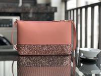çanta örtüsü toptan satış-Marka tasarımcısı glitter crossbody çanta Çanta Patchwork shining omuz crossbody çanta kadınlar çanta tote Omuz askısı ile