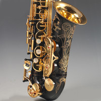 Brand New Made in Japan Black YAS 82Z Alto Saxophone Gold lacquer Saxophone Alto falling E Sax Gold keys tenor saxphone Package mail