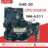 Wholesale laptop motherboards cpu online - ACLU9 ACLU0 NM A311 Motherboard for Lenovo G40 G40 laptop Motherboard for intel N2830 CPU tested WORK