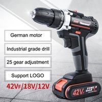 Wholesale battery power tools for sale - Group buy 2Speeds Electric Drill Cordless Screwdriver V V V Lithium Battery Cordless Drill Mini Drill Cordless Screwdriver Power Tool BC VT0937