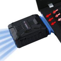 ventilador del refrigerador del vacío del usb al por mayor-Mini Vacuum USB Laptop cpu cooler gadget pc fan Cooler Extractor de aire Extractor de enfriamiento Ventilador CPU control pc gadgets