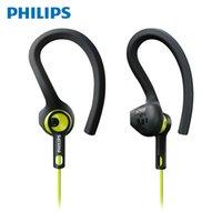 telefone philips venda por atacado-Philips / Philips Shq1400. Celular Movimento Earplugs Walkman Waterproof Headset Hanging tipo Ear Wired