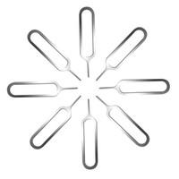 ingrosso lettore di schede sim-1000Pcs SIM Pin per cellulare Smartphone Cellulare supporto del vassoio strumento di espulsione Pin Metal Product