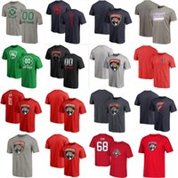 Wholesale black panthers for sale - Group buy Aleksander Barkov Jonathan Huberdeau Men s Florida Panthers Hockey T Shirt Mike Hoffman Evgenii Dadonov Keith Yandle Custom Any Name Number