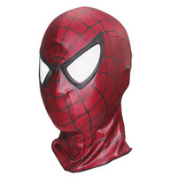 Wholesale red spiderman masks for sale - Group buy Super Spiderman Cosplay Hood Full Head Mask Halloween Masks Adult Kids Animal Costumes Cosplay Mask Deadpool Masks