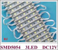 melhores preços luzes led venda por atacado-SMD 5054 módulo LED luz de fundo módulo para carta de sinal DC12V 3 led 1W 120lm IP65 CE 72mm * 11mm de alta brilhante 2019 novo design melhor preço