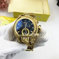 neue seiluhr großhandel-ALLE New Black GOLD Drahtseil DZ Uhr Swiss Movement Herren Edelstahl FULL Steel Armband Sapphire Armbanduhr Uhren GOD FOR