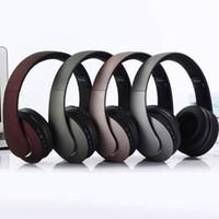 наушники для наушников bluetooth tf оптовых-KD23 Bluetooth для беспроводных наушников Наушники с оголовьем TF Card Radio Bests Поддержка удобной игровой гарнитуры Stereo HIFI для Android Universa
