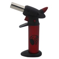 Wholesale jet torch light resale online - GF Flamethrower Windproof lighters Barbecue gas jet lighters can adjust the flame Recycling Lighting a cigarette or cigar Torch Lighter