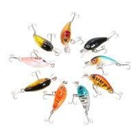 Wholesale japan lures for sale - 4 cm g Rock Bait Bionic Mini Fishing Lure Lures d Eyes Bait Crankbait lure Wobblers Tackle Isca Poper Japan Hard ABS Popper Bait