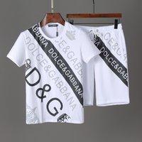 höchste qualität passt großhandel-Hohe Qualität Hip Hop Sets Designer Trainingsanzug Männer Luxus Kurze Anzüge Sommer Marke Mens Jogger Anzüge T-shirt + Kurze Hosen Set