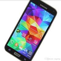 Wholesale samsung galaxy s5 phones online – Samsung Galaxy S5 G900F G900A G900T RAM GB ROM GB G LTE Phone Bluetooth GPS WIFI Unlocked Refurbished Original Cell phone