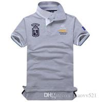 Wholesale boys polo long shirt for sale - Group buy 2018 Poloshirt Solid Polo Shirt Men Polo Shirts Long Sleeve Men s Basic Top Cotton Polos For Boys Polo Homme