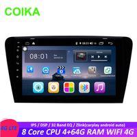 Wholesale din car dvd skoda for sale - Group buy COIKA Core Android System Car DVD Multimedia Screen For Skoda Octavia G RAM GPS Navi BT Zlink SWC WIFI G DSP IPS