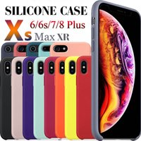 Wholesale silicone cases for cell phones for sale – best Silicone Cell Phone Case For IPHONE Pro Max XS MAX XR Plus S X Silicon Cover