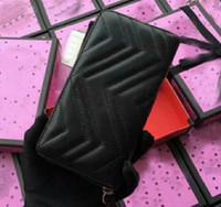 хобо-сцепление оптовых-Женская мужская длинный кошелек кошелек кожаный классический бренд моды роскошные сумки сцепления сумка сумки бродяги сумки Hotsale Оптовая