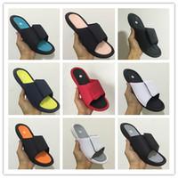 hydro slipper al por mayor-Calidad superior 6 s Hydro 6 para hombre diseñador flip flops sandalias de moda de lujo diapositivas diapositivas de goma de aire tamaño 40-47