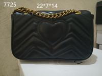 beste luxus-umhängetasche großhandel-AAA2019 meistverkaufte neue Einzel-Umhängetasche, Damen Luxus Handtasche, Designer Handtasche Boutique Damen Umhängetasche, kostenlose Lieferung # 7725